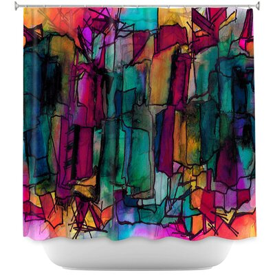 Facets of The Self 1 Shower Curtain