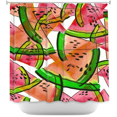 Watermelon Picnic Shower Curtain