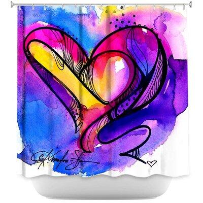 Heart Dance Shower Curtain
