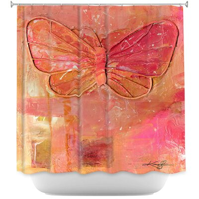 Cendejas Ode To The Butterfly Shower Curtain