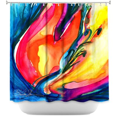 Soul Flower 06 Shower Curtain