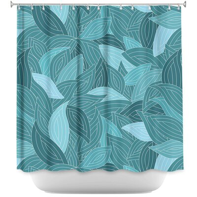 Leaves II Shower Curtain