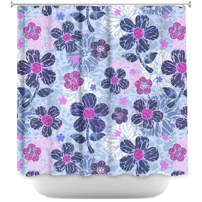 Flowers Mix II Shower Curtain