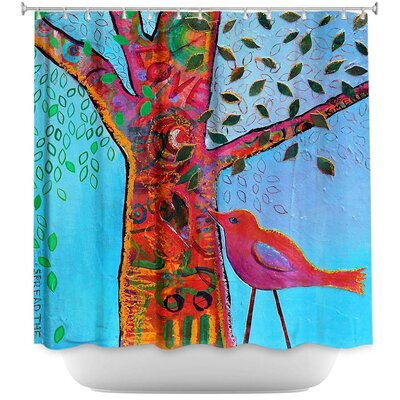 Celentano Love Tree Shower Curtain