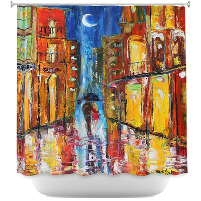 New Orleans Rain Shower Curtain