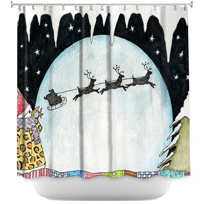 Cold Moon 2 Shower Curtain