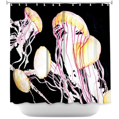 Hulsey Jelly Fish Shower Curtain