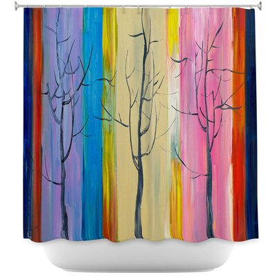 Celentanos Trees I Shower Curtain