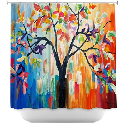 Celentano Tree III Shower Curtain
