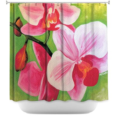 Moth Orchid Shower Curtain