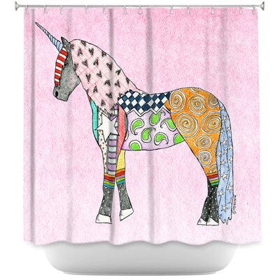 Unicorn Pastel Shower Curtain