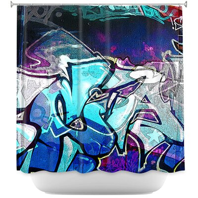 Graffiti 11 Shower Curtain