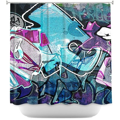 Graffiti 12 Shower Curtain