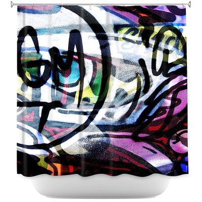 Graffiti 5 Shower Curtain