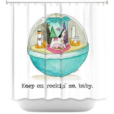 Toys Keep On Rocking Me Baby Shower Curtain