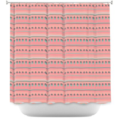 Dreamy Lines Shower Curtain