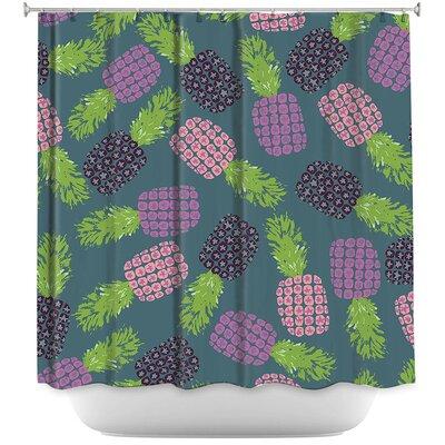 Fruit Pineapple Shower Curtain
