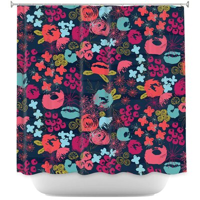 Island Floral Shower Curtain