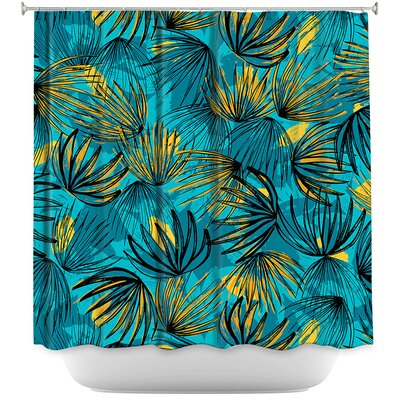 Unfinished Flowers Shower Curtain