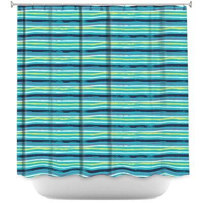 Woodland Stripe Shower Curtain