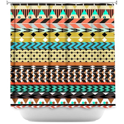 Desert Aztec Shower Curtain