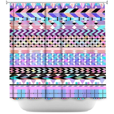 Girly Aztec Shower Curtain