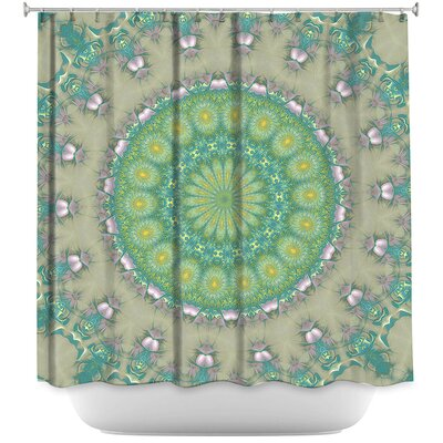 Petry Opal Slice Shower Curtain