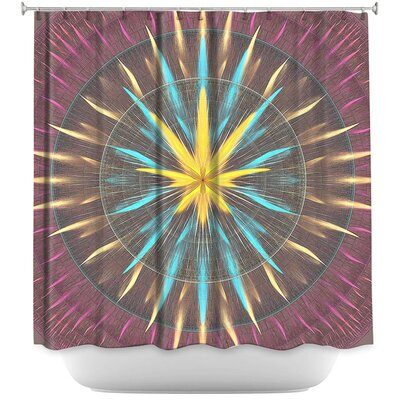 Wheel of Zirgon Shower Curtain