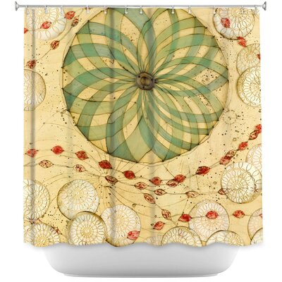 Circle Love Shower Curtain