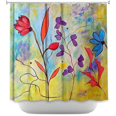 Flora II Shower Curtain