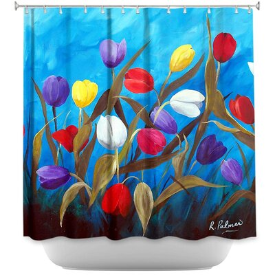 Tulips Galore II Shower Curtain