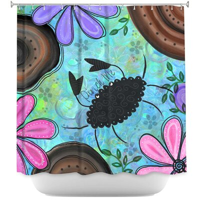 Crabby Days Shower Curtain