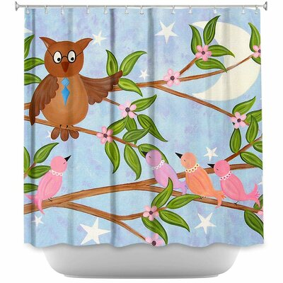 Flight School Shower Curtain