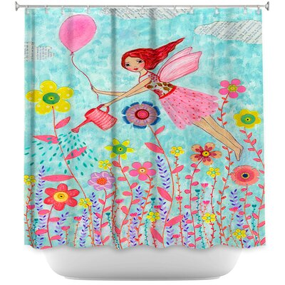 Garden Fairy Shower Curtain