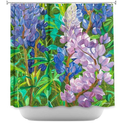 Whispering Flowers Shower Curtain