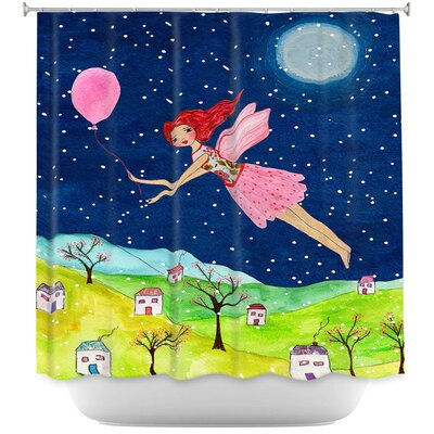Snow Fairy Shower Curtain