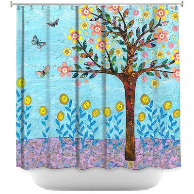 Chesney Spring Tree Shower Curtain