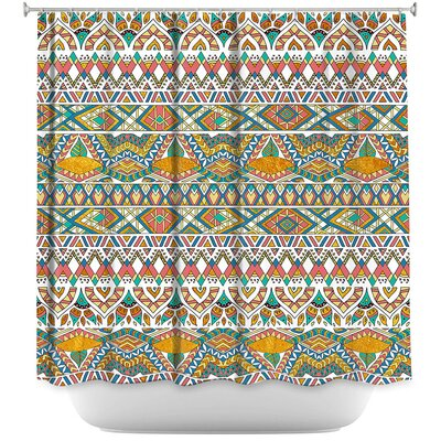 Egyptian Tribals Shower Curtain