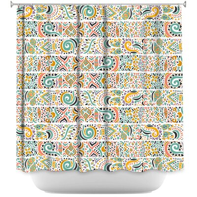 Jungle Doodles Shower Curtain