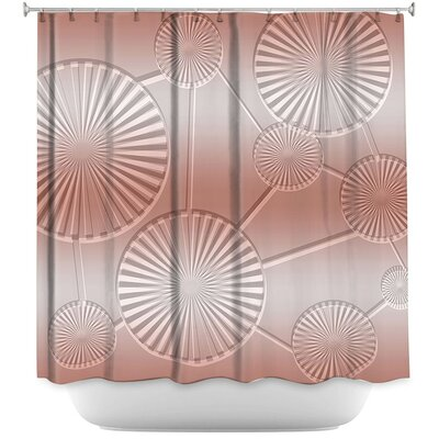 Shower Curtain Color: Lavender/Periwinkle
