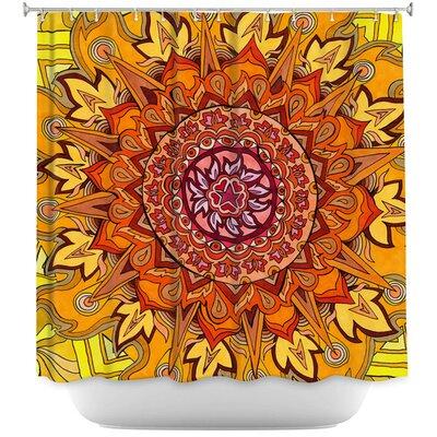 Revelation Mandala Shower Curtain