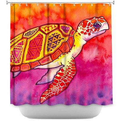Dreyer Sea Turtle Spirit Shower Curtain