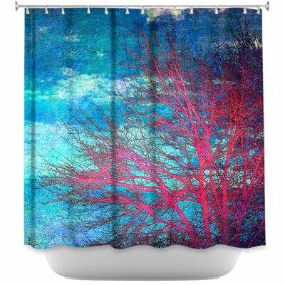 Tree II Shower Curtain