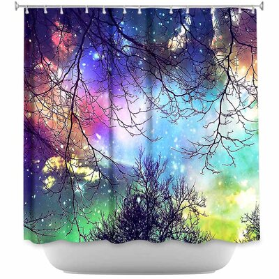 Look to the Stars Shower Curtain