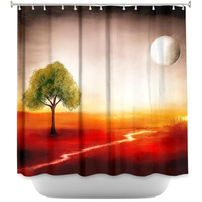 Bliss Of Solitude Shower Curtain