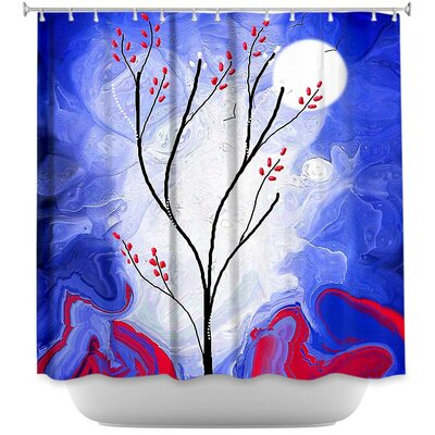 Touch the Moon Shower Curtain