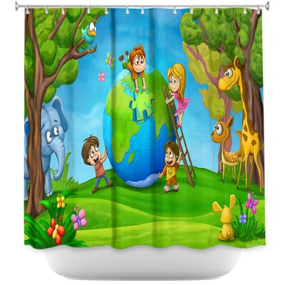Fixing the Globe Shower Curtain