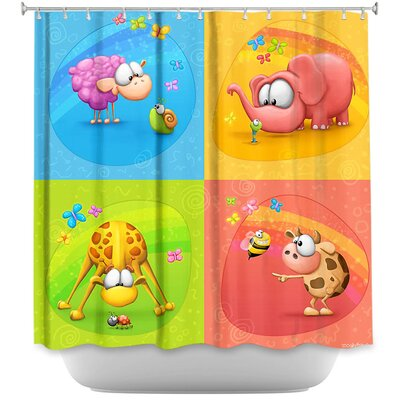 Meet the Little Ones Shower Curtain