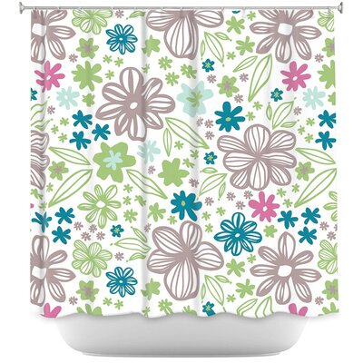 Flora Spring Shower Curtain