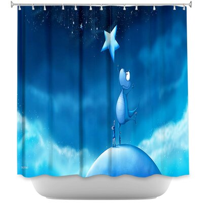 Reach for a Star Shower Curtain